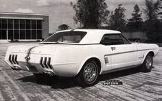 65 Mustang Fastback, Ford Mustang, Mustangs, Concept Cars, Concept Auto, Mystery, Futuristic Cars, Ikon, Cars And Motorcycles