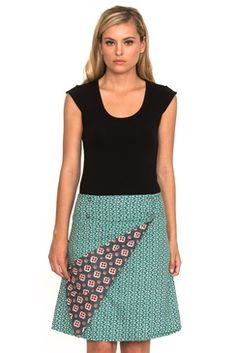 We're offering you the perfect summer collection of women's cotton fashion Buy Skirts Online, Bindi, Chameleon, Summer Collection, Grey, Cotton, Blue, Women, Style
