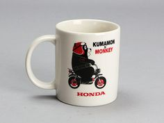 Kumamon White Mug Honda Monkey Z50 / Collectible product / Direct from Japan NEW