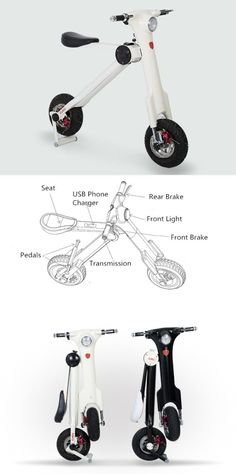 Ok another designed electric scooter