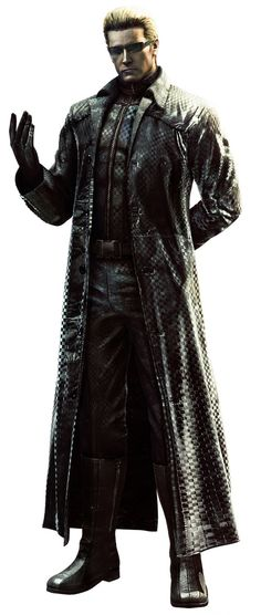 View an image titled 'Albert Wesker Art' in our Resident Evil 5 art gallery featuring official character designs, concept art, and promo pictures. Resident Evil 5, Resident Evil Video Game, Albert Wesker, Geeks, Cyberpunk, Videogames, Evil Games, Games Zombie, Mundo Dos Games