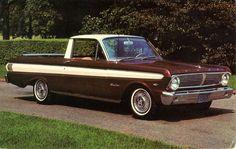 1965 Ford Falcon Ranchero Pickup Car, Pickup Trucks, Rat Rods, Big Trucks, Ford Trucks, Classic Trucks, Classic Cars, Cool Old Cars, Panel Truck