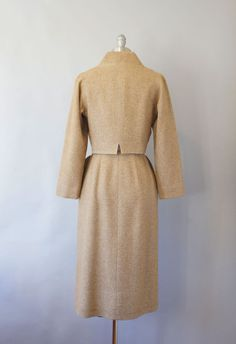 1950s Claire McCardell wool suit / vintage 50s by Coralroot