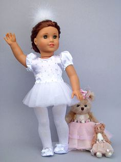 Swan Lake Ballet Costumes   Swan Lake Ballet Costume for American Girl and other 18 inch Dolls