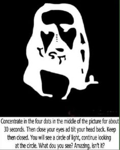 Optical illusions ( Visual illusions ) - Sharenator - It's Human Nature To Share - Optical Illusions - Scary Optical Illusions, Illusions Mind, Cool Illusions, Jesus Optical Illusion, Funny Illusions, Jesus Illusion, Art Optical, Eye Tricks, Brain Tricks