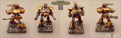 Legio Fureans Reaver Titan : This true scale Reaver is played as a Warlord Titan (weapons are magnetised and WYSIWYG).