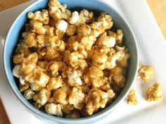 We've made this recipe for years.  It is Paula Deen's so you know it's good! I've tried microwaved versions, sticky caramel corn, etc. but nothing has been as good as this s…