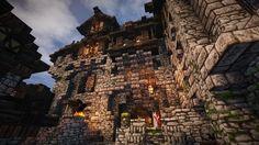 Stadtfelsen, a Medieval Castle: Epic Build - http://gearcraft.us/stadtfelsen-a-medieval-castle-epic-build/