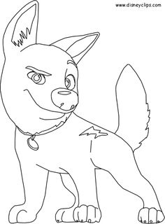 25 best Disney Bolt Coloring Pages images on Pinterest | Coloring ...
