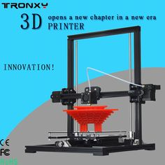 204.05$  Buy here - 2016 Best Tronxy X3 DIY 3D Printer kit Aluminium Structure machine Reprap prusa i3 3D printing 2rolls filament 8GB SD card gifts   #aliexpresschina