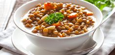 Straight from the pages of my 4 week #EatClean #nutrition & #fitness lifestyle program, #FitCommit - a delicious and hearty #Lentil & #Vegetable Stew #recipe! #vegan #vegetarian #glutenfree #meatlessmonday #toscareno #eatcleandiet #eatingclean #cleaneating #dinner #nutrition