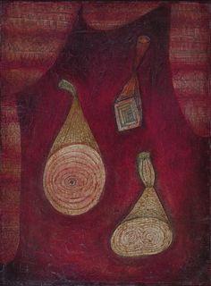 Paul Klee, Omega 5. Imitation of objects on ArtStack #paul-klee #art