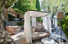 Terrasse Lounge La Bastide Saint Antoine