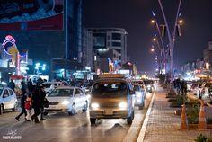 بغداد من منطقة المنصور / شارع الرواد .شتاء عام 2015 بعدسة المبدع بكر مجاهد . . . . . . .