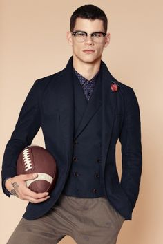 Any football player can look good after a game