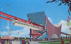 The AMF Monorail, New York World's Fair, 1964-65