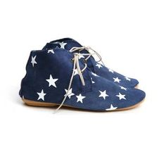 ANNIEL ENFANT Derby shoes star printed