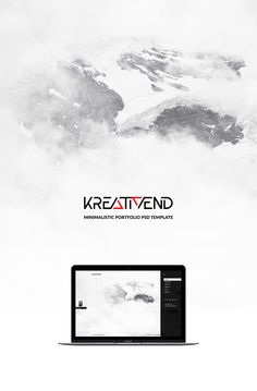 KREATIVEND is a minimalistic portfolio website design template made for fun. It is free either for commercial or non-commercial projects. Portfolio Website Design, Free Stuff, Psd Templates, Mockup, Commercial, Minimalist, Projects, Fun, Log Projects