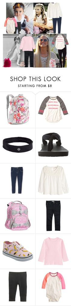 """Dream girls ootd from  Monday: School and after school activities"" by meljordrum ❤ liked on Polyvore featuring The North Face, lululemon, Hollister Co., sanuk, H&M, Roxy, Vans, Uniqlo, J.Crew and adidas"