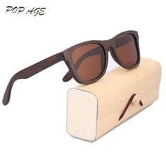 Vintage Sunglasses Men Mirrored Wood Eyewear Polarized Sun Glasses Man UV400 Oculo de sol Masculino Wooden Glasses Sunglasses
