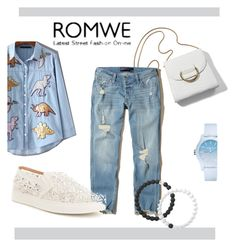 """""""ROMWE"""" by nada-nada1960 ❤ liked on Polyvore featuring Hollister Co., Antonio Melani, Lacoste and Lokai"""