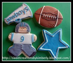 Dallas Cowboys Cookies!