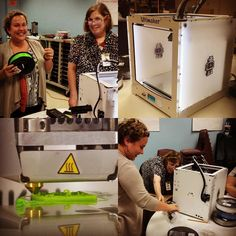 Having a blast #3dprinting w/ #ultimaker2 #teacher : #nerdalert #STEM by mililaff