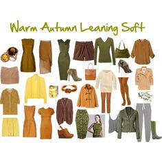 Warm Autumn Leaning Soft - Polyvore. Absolutely love this
