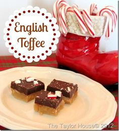 englishtoffee thumb 20 Days of Christmas Cookies/Candy.  Day 9: English Toffee