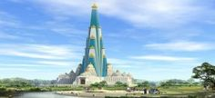 world tallest temple,temple,big temple.