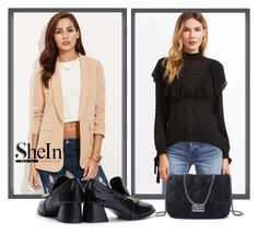 """""""SheInSide-XIX/3"""" by dzemila-c ❤ liked on Polyvore featuring Sheinside and shein"""