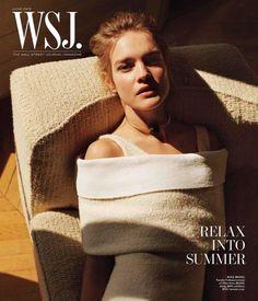 Natalia Vodianova by Alasdair McLellan for WSJ Magazine June 2013