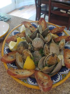 Clams, clams and clams