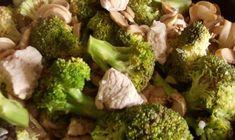 brokkolis csirkemell Wok, Vegetables, Vegetable Recipes, Veggies