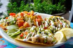 Ceviche Tostadas ~ these look so good.