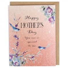 You are special to me Mother's day card
