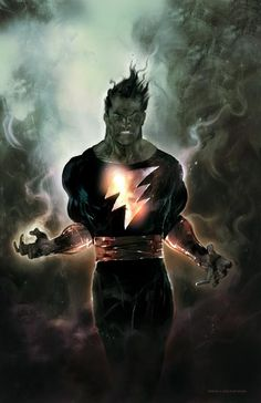 Black Adam is a super-villain and sometimes anti-hero originally written as the evil counterpart to Captain Marvel, an ancient Egyptian prince who was given incredible powers by the wizard Shazam and survived into the modern era. His legacy would eventually expand to include the Black Marvel Family involving his wife Isis and her brother Osiris protecting their native land of Kahndaq.