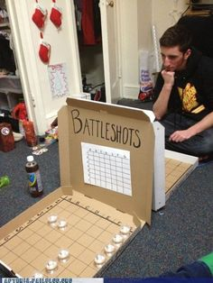 This is actually a pretty ingenious drinking game.