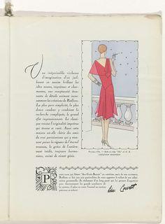Art - Goût - Beauté, Feuillets de l' élégance féminine, Noël 1928, No. 100, 9e Année, p. 39, Anonymous, Redfern, Charles Goy, 1928