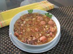 Sopa de pinhão curitibana - Receitas da Vovó