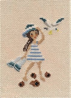 Happy Cartoon, Cartoon Kids, Hand Embroidery Stitches, Cross Stitch Embroidery, Cross Stitch Designs, Cross Stitch Patterns, Cross Stitch Boards, Le Point, Cross Stitching