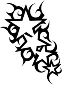 Mijn sterren - The Effective Pictures We Offer You About Tattoo Pattern dots A quality picture can tell you many things. You can find the most beautiful pictures that can be presented t Star Tattoos, Body Art Tattoos, Tribal Tattoos, Tattoo Sketches, Tattoo Drawings, Tattoo Perna, Star Tattoo Designs, Tattoo Stencils, Stencil Patterns