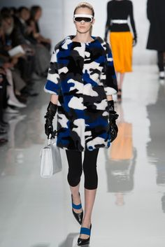 Michael Kors Collection Fall 2013 Ready-to-Wear Fashion Show - Daria Strokous