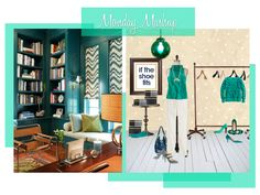 Monday Mashup [EMERALD] City, featuring @J.Crew World & William-Christopher Design