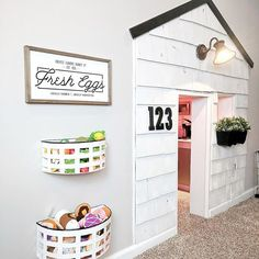 Unusual Kids Playroom Design Ideas 24 - Home Decor Ideas 2020 Modern Playroom, Playroom Design, Play Spaces, Kid Spaces, Play Areas, Small Spaces, Basement Bedrooms, Kids Bedroom, Basement Bathroom