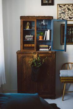 Idée relooking cuisine Armoire en bois authentique