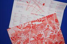 """Die Karte zu Düsseldorfs Japan Viertel """"Little Tokyo"""" von KittoKatsu. Jetzt entdecken."""