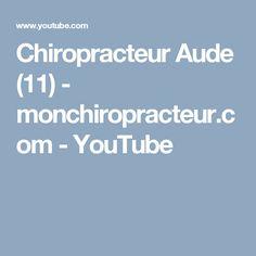 Chiropracteur Aude (11)  - monchiropracteur.com - YouTube