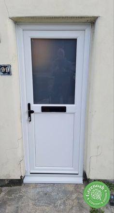 White Liniar uPVC Front door. Hadleigh Essex