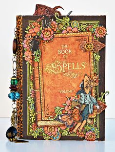 Scrappin For Me: Book Of Spells